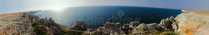 Cape Tarkhankut royalty free stock photo