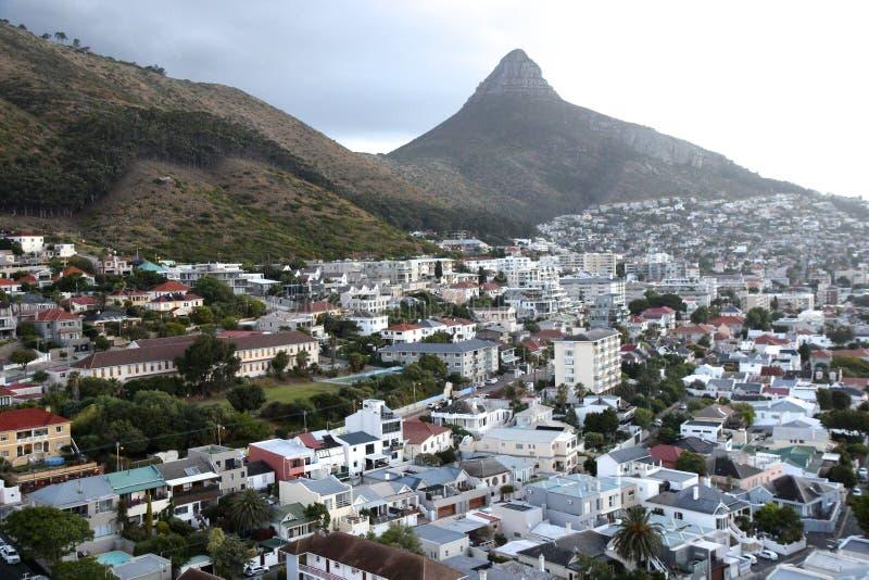 Cape Town-Ansicht lizenzfreies stockfoto
