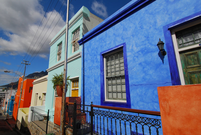 Cape Town BO-Kaap fotos de stock royalty free