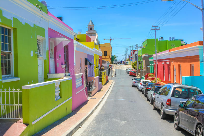 Cape Town bo-Kaap стоковые фото