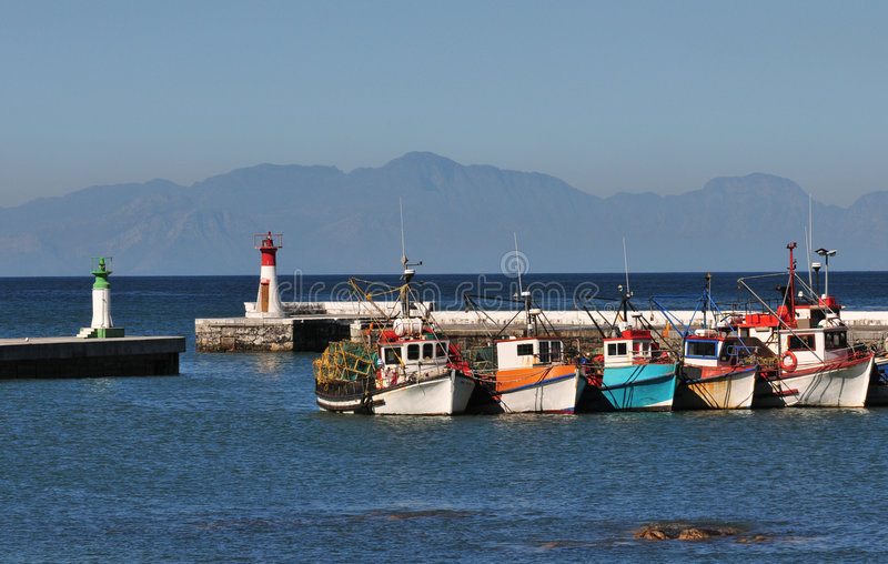 Cape Town Boats stock images
