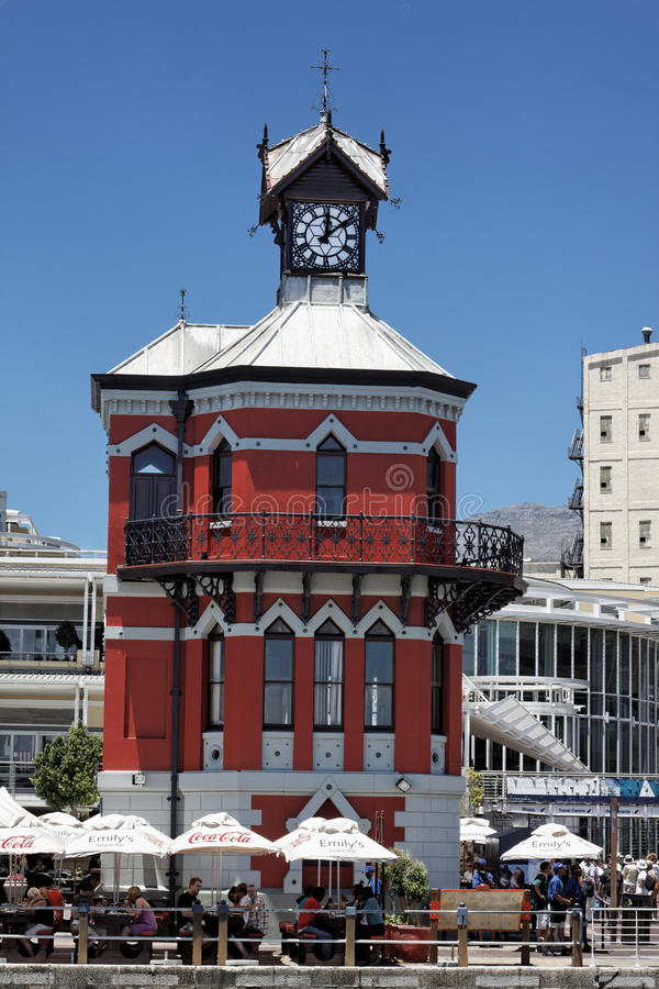 Free Cape Town Clock Tower Royalty Free Stock Photos - 13432758
