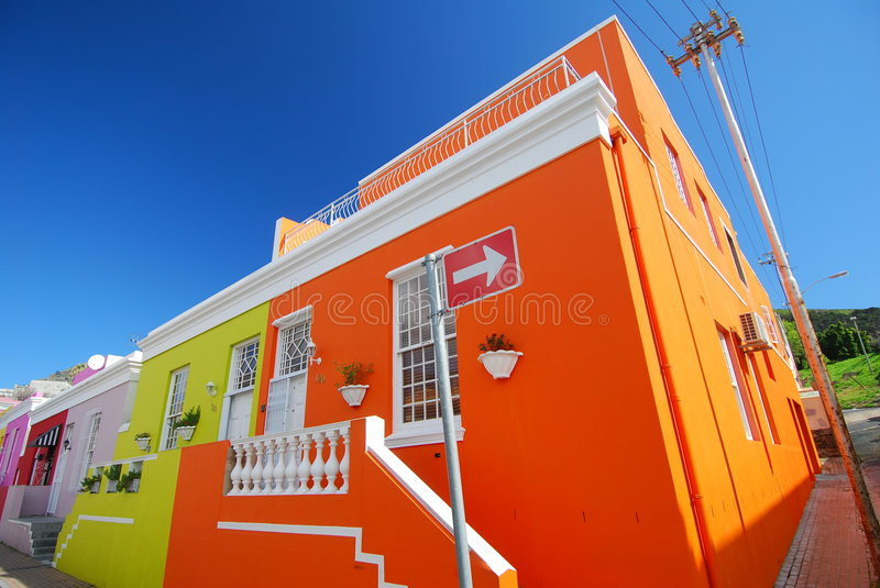 Cape Town Colours royalty free stock image