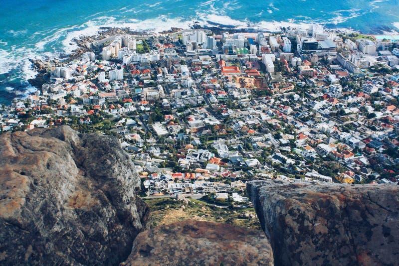 Cape Town de la cabeza de los leones fotografía de archivo libre de regalías