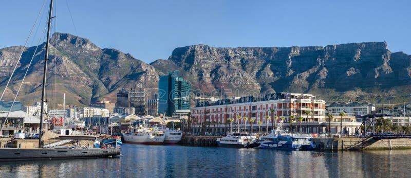 Cape Town die Stadt in Südafrika stockbilder