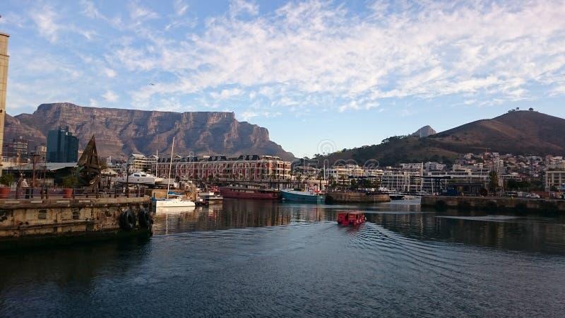 Cape Town-Hafen stockfotos