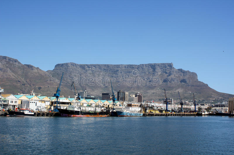 Download Cape Town Harbor stock photo. Image of cargo, place, landscape - 26792708