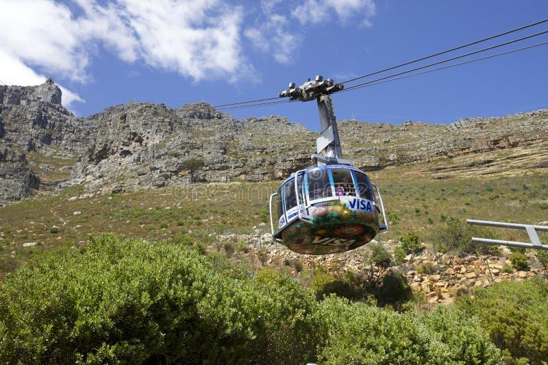 Cape Town, montagne de Tableau photo libre de droits