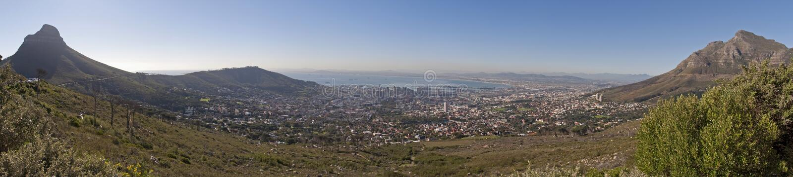Cape Town Panorama royalty free stock photo