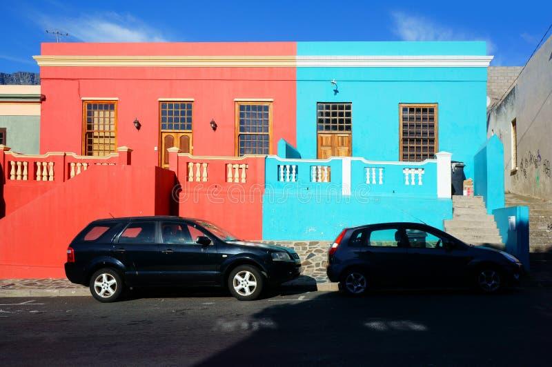 Cape Town región-BO-Kaap malaya imagenes de archivo