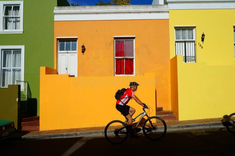 Cape Town región-BO-Kaap malaya fotografía de archivo