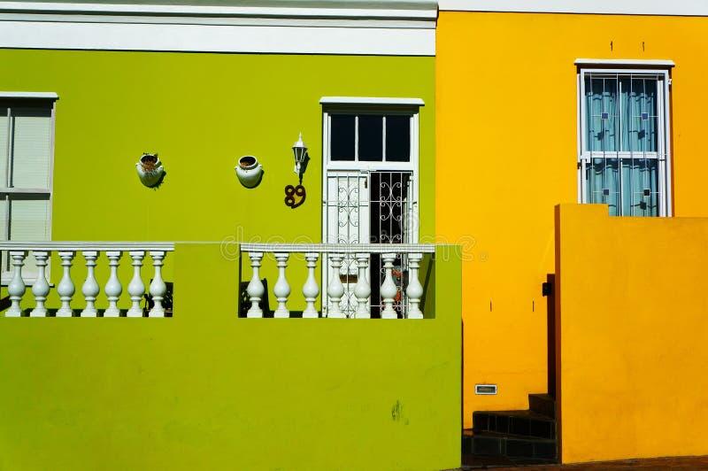 Cape Town regione-BO-Kaap malese immagine stock