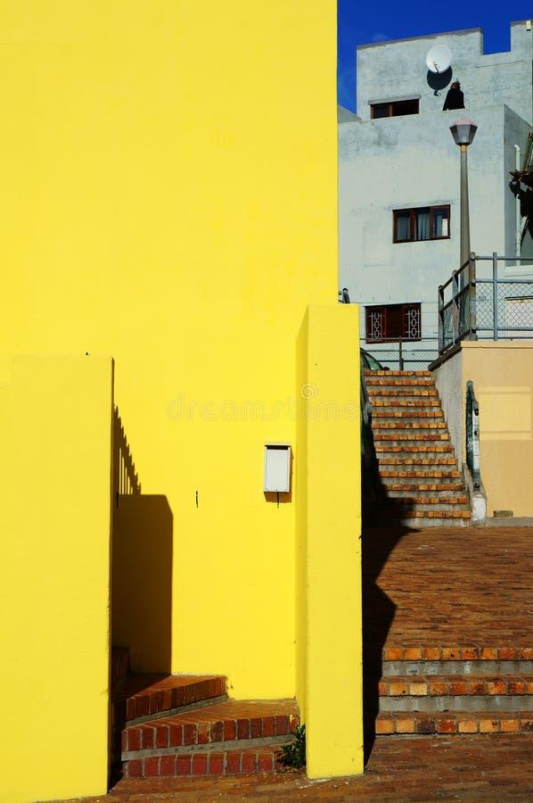 Cape Town regione-BO-Kaap malese fotografia stock libera da diritti