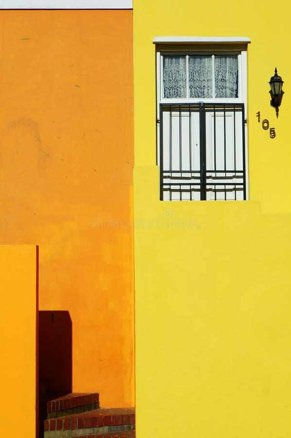 Cape Town regione-BO-Kaap malese fotografie stock libere da diritti