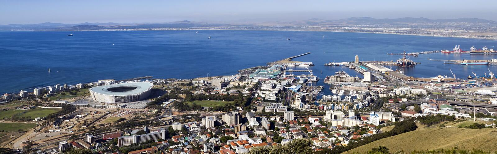Download Cape Town soccer stadium stock photo. Image of host, harbour - 13007778