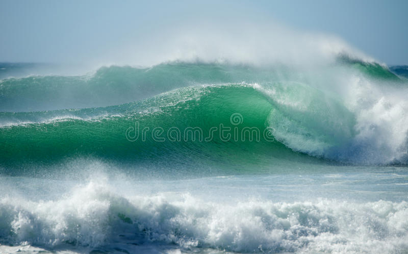 Cape Town surf waves royalty free stock photography