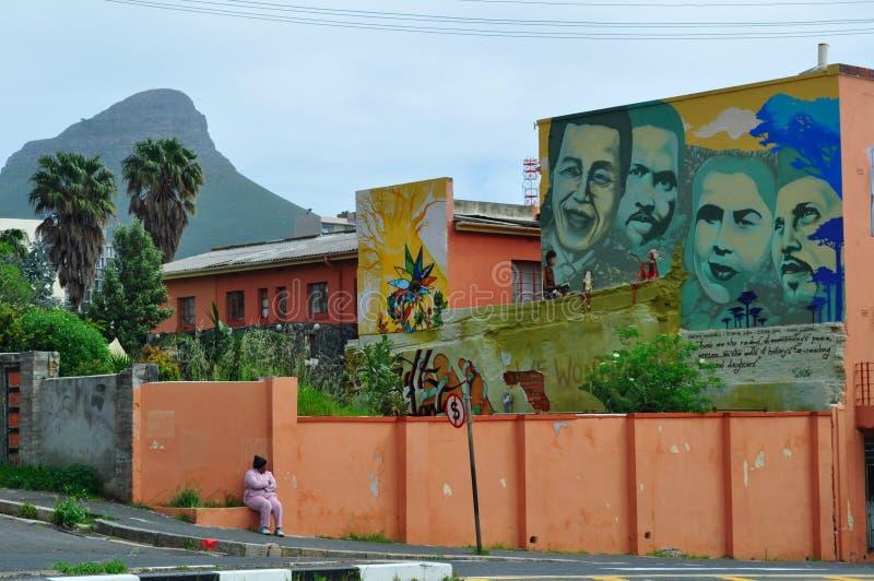 Cape Town Sydafrika, västra udde, uddehalvö royaltyfria bilder