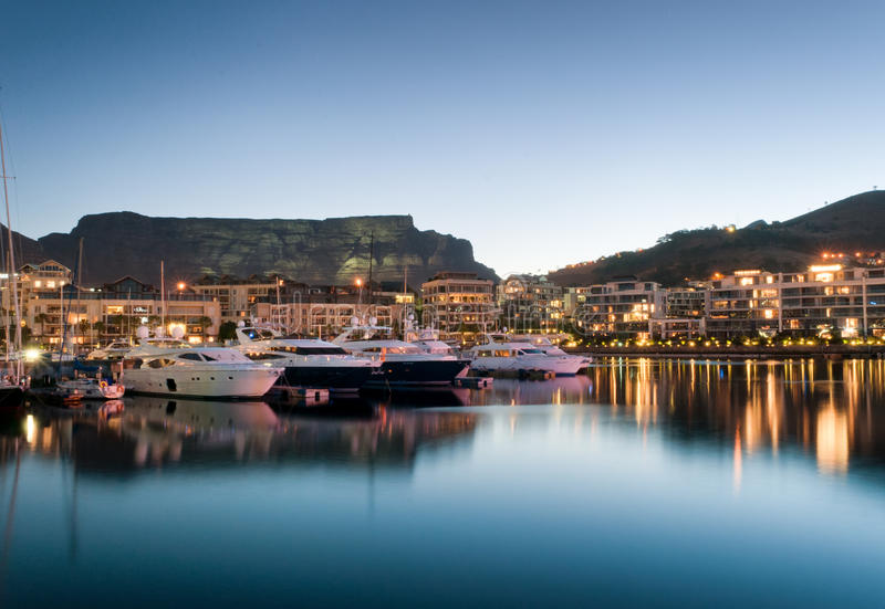Cape Town V&A Waterfront royalty free stock image