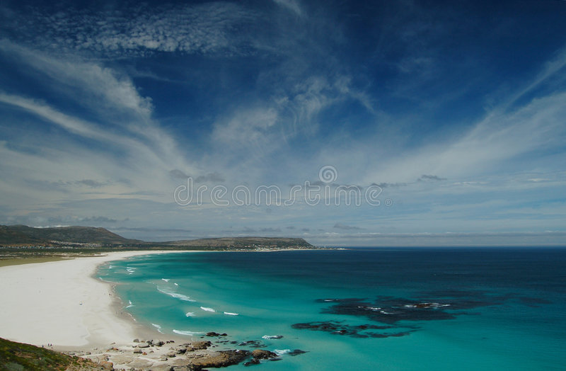 Cape Town view 2 royalty free stock images