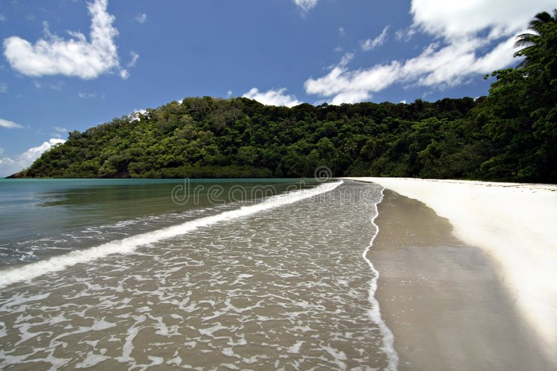 Cape Tribulation. Far North Queensland royalty free stock images