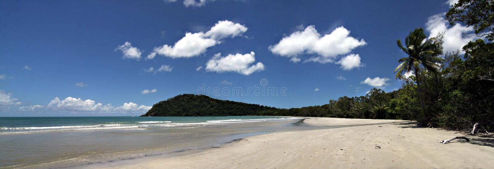 Cape Tribulation. Far North Queensland royalty free stock image
