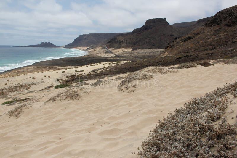 Cape Verde Islands. The Coast of Sao Vincente, Cape Verde Islands stock photos