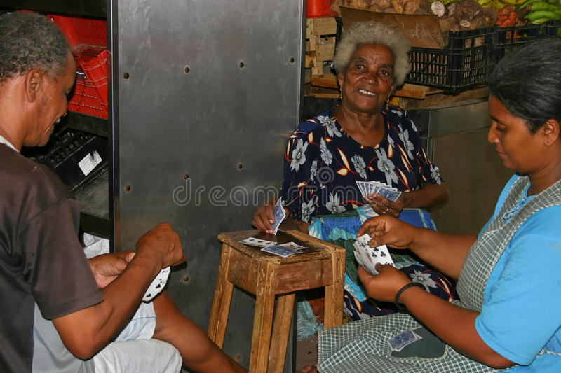 Cape Verde People stock images