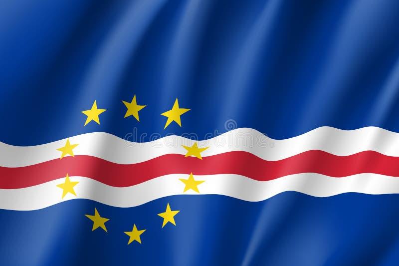 Cape Verde sjunker stock illustrationer