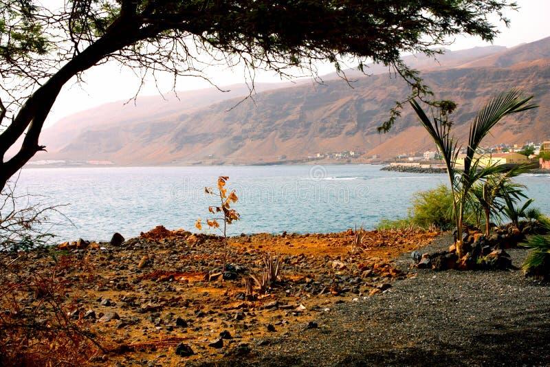 Cape verde. Tarrafal in the island of Sao Nicolau in the archipelago of Cape Verde stock photo