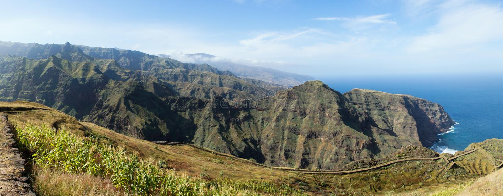 Download Cape Verde viewpoint stock image. Image of viewpoint - 32677717