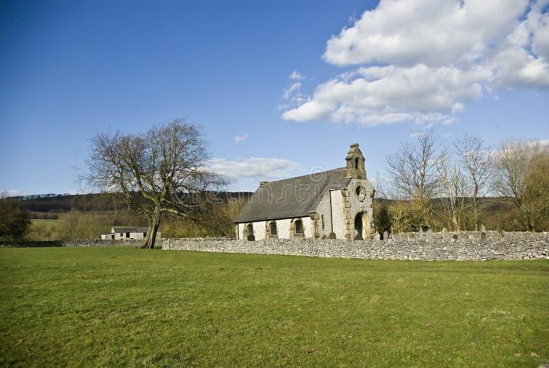 Capela Congregational em pouco Longstone fotos de stock royalty free