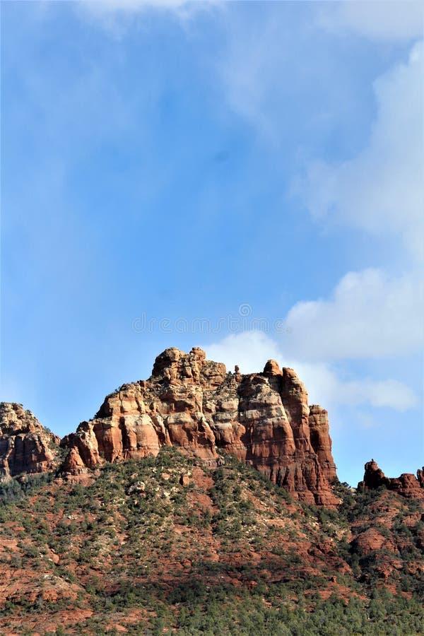 Capela da cruz santamente, Sedona, o Arizona, Estados Unidos imagem de stock royalty free