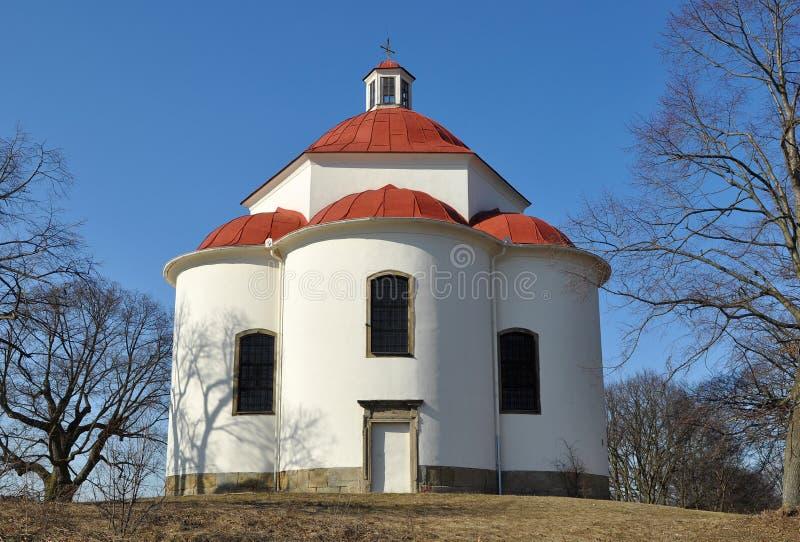 Capela da trindade santamente em Rosice, representante checo. fotos de stock royalty free