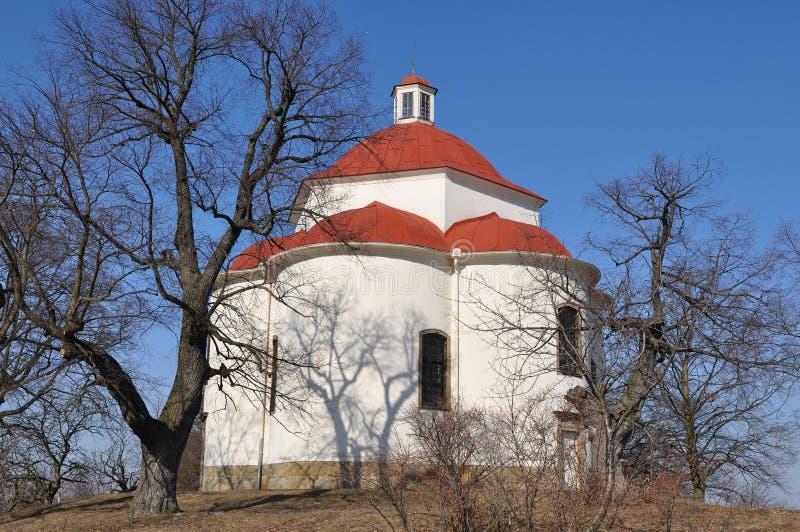 Capela da trindade santamente em Rosice, representante checo. imagens de stock royalty free
