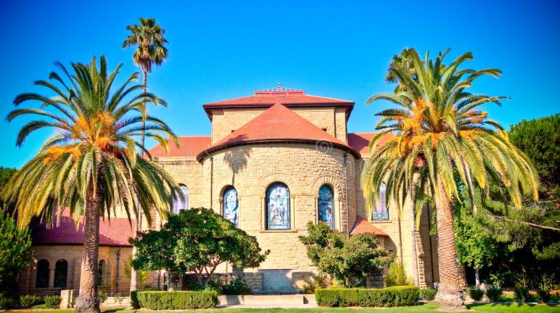 Capela da Universidade de Stanford imagem de stock