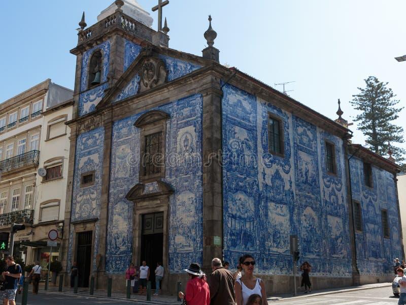 Capela das Almas - Kapel van Zielen of Capela DE Santa Catarina i royalty-vrije stock fotografie