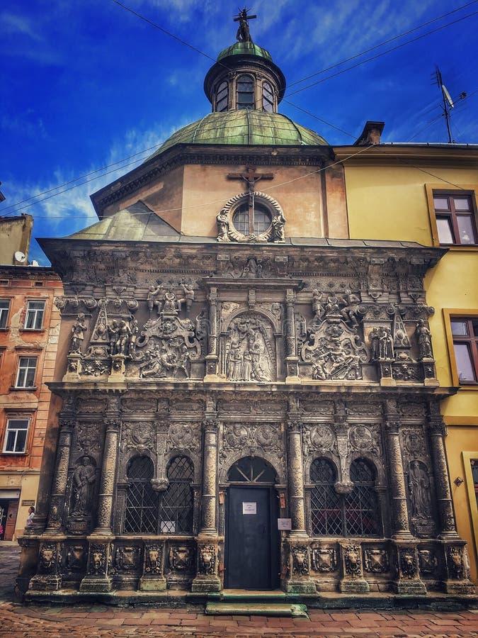 A capela de Boim foto de stock