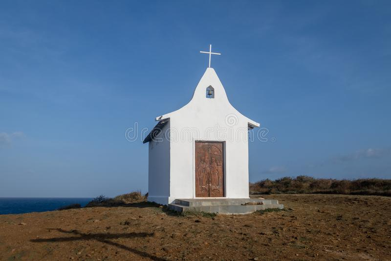 Capela de dos Pescadores - Fernando de Noronha de Pedro do Sao, Pernambuco, Brasil foto de stock