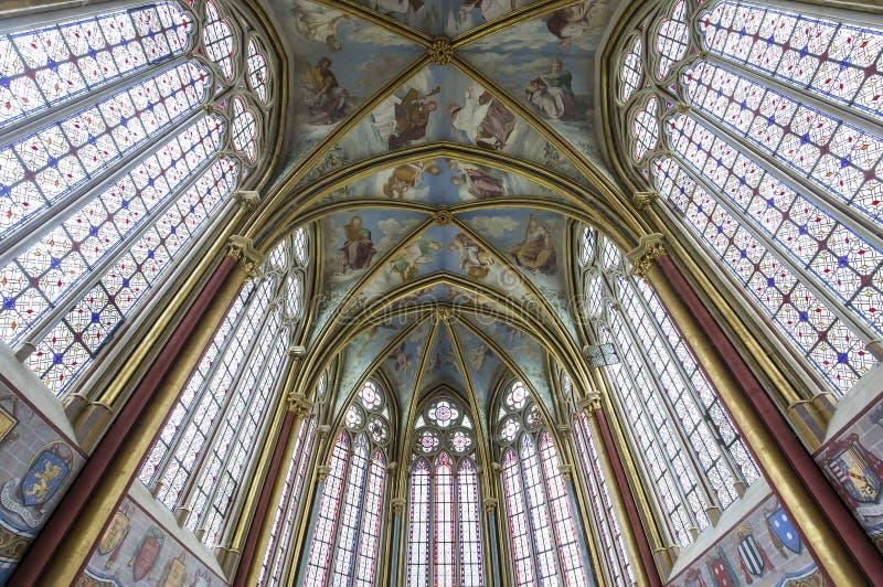 Capela de Primatice, abadia de Chaalis, Chaalis, França imagem de stock royalty free