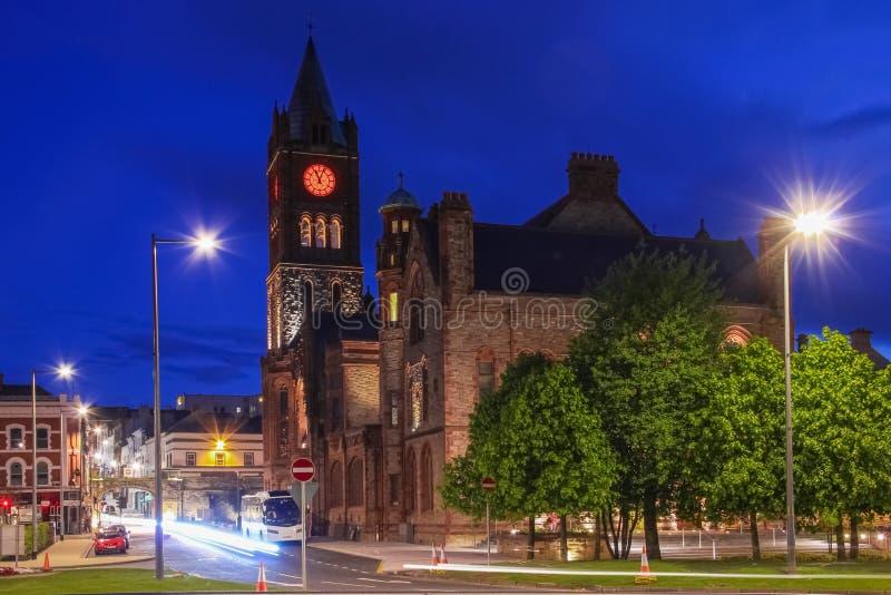 A capela Derry Londonderry Irlanda do Norte Reino Unido imagem de stock royalty free
