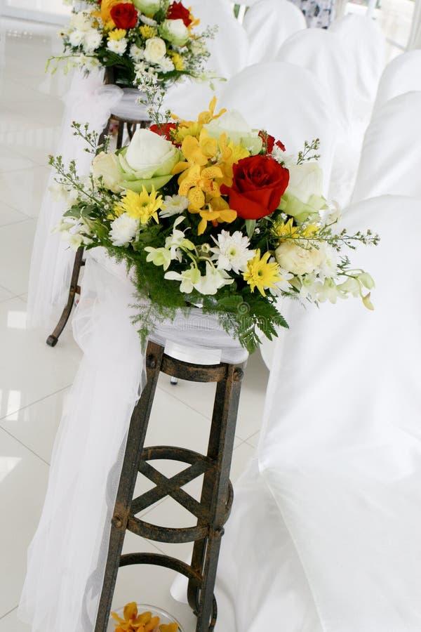 Capela do casamento foto de stock