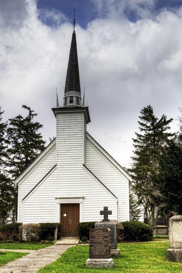 Capela do Mohawk em Brantford, Canadá foto de stock
