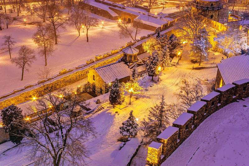 Capela do St Petka em Belgrado imagem de stock