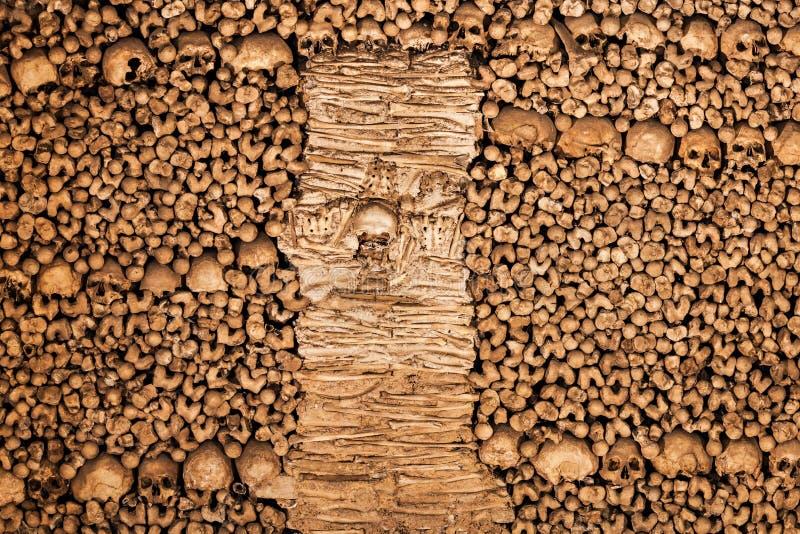 Capela dos ossos imagem de stock