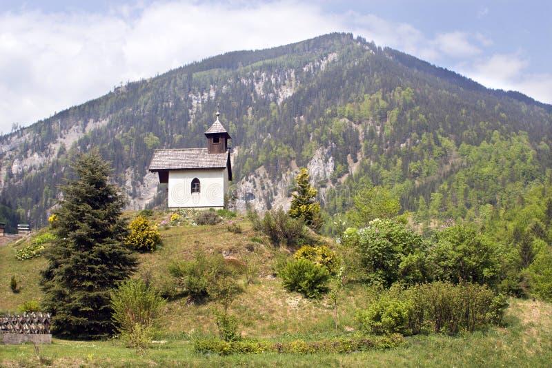 Capela em Áustria imagens de stock royalty free