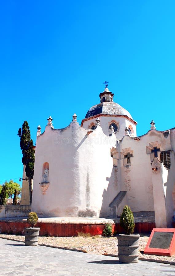 Capela fortificada San Miguel De Allende, Atotonilco, México fotografia de stock royalty free