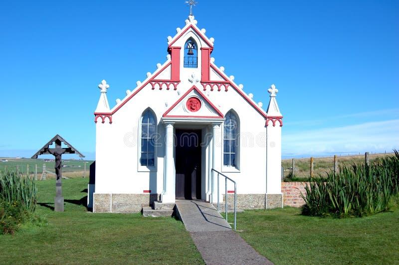 A capela italiana fotografia de stock royalty free