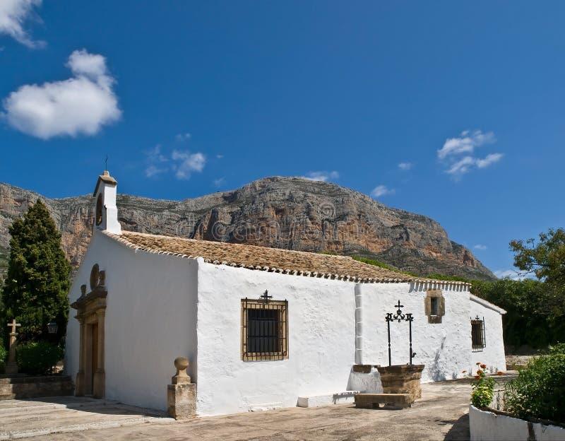 Capela mediterrânea fotografia de stock royalty free