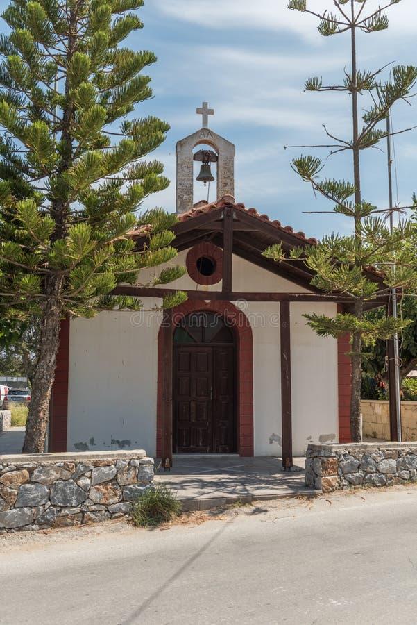 Capela ortodoxo grega fotos de stock