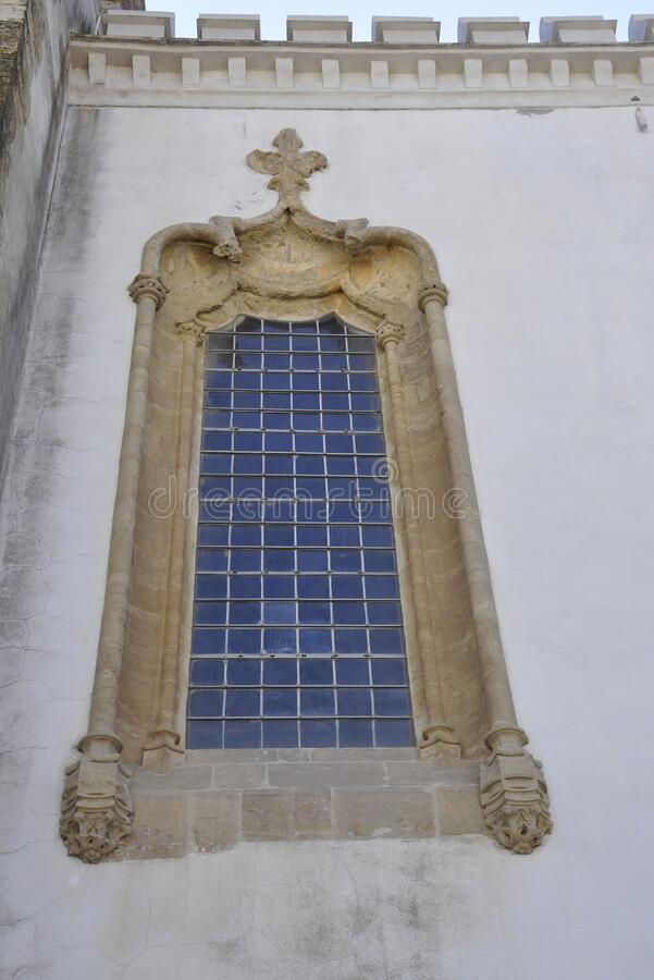Free Capela Sao Miguel Chapel Window Design From The Oldest University From Coimbra In Portugal Royalty Free Stock Image - 191354306
